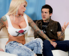 Aggressive mom Lolly Ink wants a hard fuck