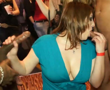 Naughty cocksuckers on the party