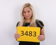 Hot czech blonde Candy Love on porn casting