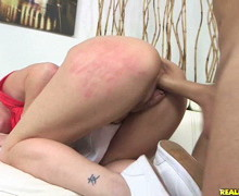 Kristina Reese gets her pussy drilled