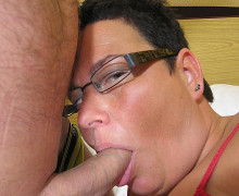 Fat woman loves big toys and big dicks