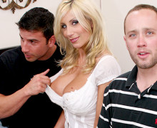 Puma Swede fucks with other guy in front of her husband