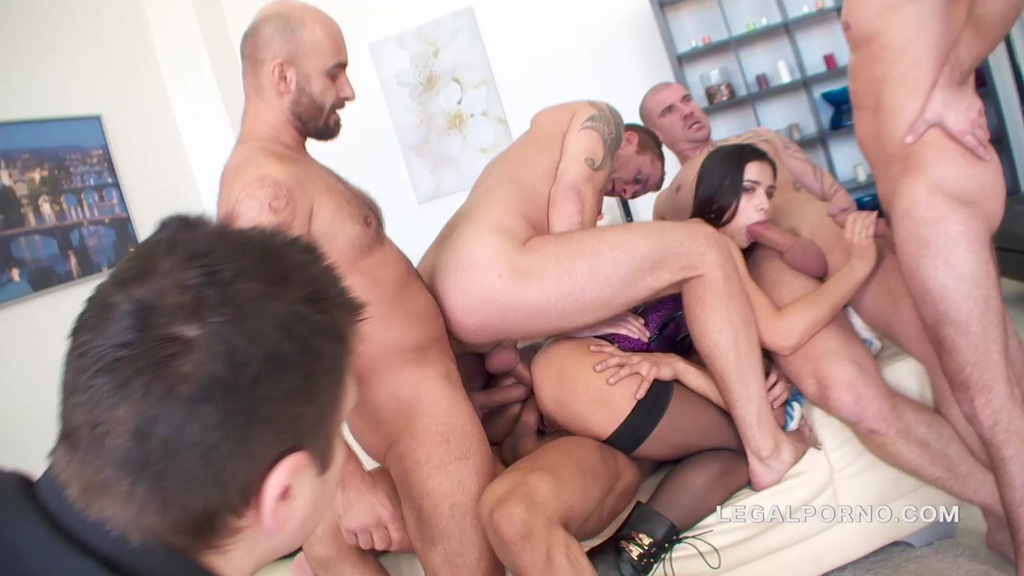Brutal triple anal and anime alien slave 5
