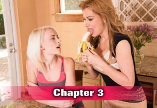 Sasha Sean as a sex tutor for Maddy Rose