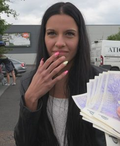 Czech amateur agrees for brutal fuck for cash