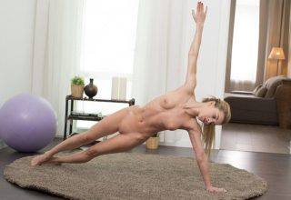 Sonya Sweet nice fucking after naked yoga exercises