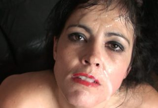 Slave mum Montse Swinger slapped and brutally fucked