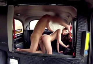Hard French fox Rachel Adjani fucking rocks taxi cab